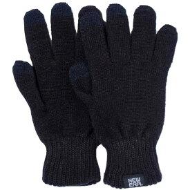 ニューエラ イータッチ ニットグローブ ブラック ホワイト New Era E Touch Knit Glove Black White【あす楽対応_近畿】【あす楽対応_中国】【あす楽対応_四国】【あす楽対応_九州】
