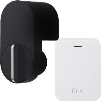 큐리오록크 Q-SL2 세트(큐리오하브 ) 블랙 Qrio Smart Lock Q-SL2 Set (including Qrio Hub) Black