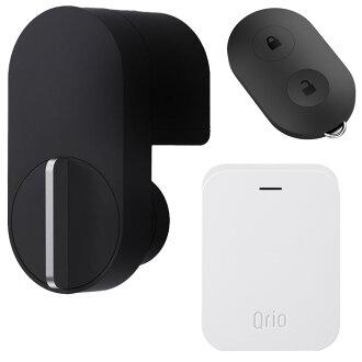 큐리오록크 Q-SL2 세트(큐리오키, 큐리오하브 ) 블랙 Qrio Lock Q-SL2 Set (including Qrio Key and Qrio Hub) Black