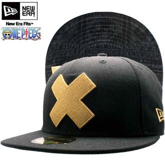一块新时代帽下遮阳板托尼斩波器的帽子黑色 x / 金一块 × 新时代帽 Tonytony 斩波器的帽子黑/金