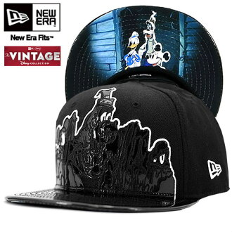 Disney x new era Cap under visor Lonesome ghost black Disney×New Era Cap UNDER VISOR LONESOME GHOSTS Black