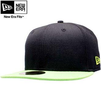 New era Cap ツートーンボディ basic series black / lime / Erin green New Era Cap 2TONE BODY Basic Series Black/Lime/Erin Green