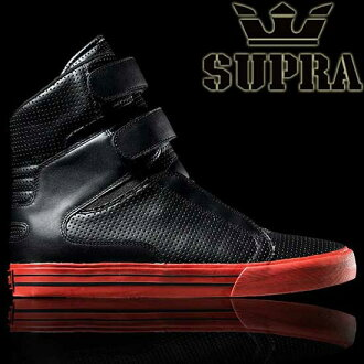 SUPRA TK SOCIETY TERRY KENNEDY PRO MODEL Black Perf Leather Supra TK sosaetiterikenedipuromoderuburakkupafureza