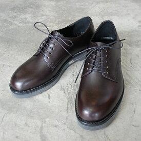 【ポイント11倍】 PADRONE パドローネ メンズ DERBY PLAIN TOE SHOES / DANTE ダンテ ブラック BLACK PU8759-2001-18C 革靴 アーバンライン