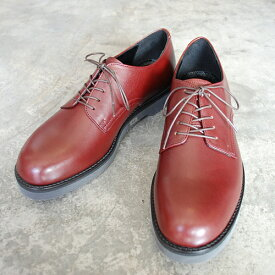 【ポイント11倍】 PADRONE パドローネ メンズ DERBY PLAIN TOE SHOES/ DANTE ダンテ BORDEAUX ボルドー PU8759-2001-18C 革靴 アーバンライン