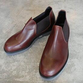 【ノベルティ】【ポイント11倍】 PADRONE パドローネ メンズ SIDE GORE SHORT BOOTS / MAURO マウロ DARK BROWN ダークブラウン PU8759-1201-18C 革靴 アーバンライン