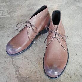 【ポイント11倍】 PADRONE パドローネ メンズ CHUCCA BOOTS チャッカブーツ / TERRY テリー ASH アッシュ PU8586-1202-17C 革靴