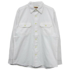 CAMCO [chambray shirts][ls][natural] カムコ シャンブレーシャツ 長袖 ナチュラル