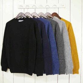 inverallan [shetland sweater][crew][solid][6c] インバーアラン シェットランドセーター クルーネック