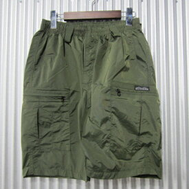 [MADE IN USA] mocean [long pursuit shorts][1020L][olive] モーシャン ロングパースートショーツ オリーブ