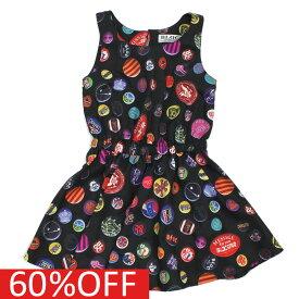 【ブロック BLOC ジュニア服】 セール 【50%OFF】 バッチパタンワンピース ブラック