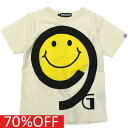 【NINE GATES/子供服/ナインゲイツ/子ども服】 セール 【50%OFF】 スマイルTシャツ オフ(003)a227a231a