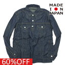 MENS メンズ トーキングアバウト TALKING ABOUT THE ABSTRACTION セール 【60%OFF】 Denim P.O Shirt ワンウォッシュa118a147a