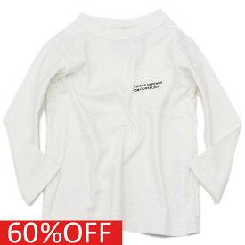【ニードルワークス】【子供服】【NEEDLE WORKS】【子ども服】 セール 【50%OFF】 STANDARD/胸ポケTシャツ(7分丈) アイボリー(3)a136a140a175a178a239a