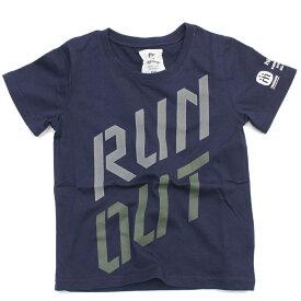 【ハイキング highking 子供服】 セール 【60%OFF】 run out short sleeve【EXCLUSIVE RELATION LINE】 ネイビーa194a
