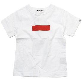 【NINE GATES/子供服/ナインゲイツ/子ども服】 セール 【70%OFF】 ボックスプリントTシャツ シロ(002)a194a232a