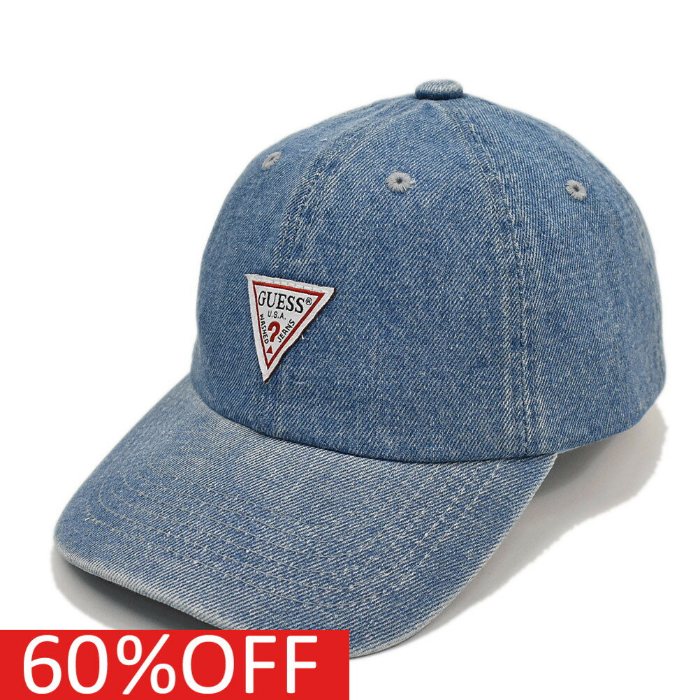 GUESS ゲス GUESSKIDS ゲスキッズ 子供服 セール 【50%OFF】 LOGO DENIM CAP ライトブルー(LBL)