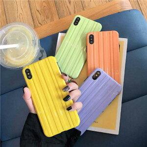 【メール便送料無料】≪大人気凸凹シリーズ≫4色のキャンディーカラーのボディから選べる♪大人女子にぴったりな凸凹で掴みやすいキャリーケース風スマホケース iPhone6,6S,6 Plus,6S Plus,iPhone