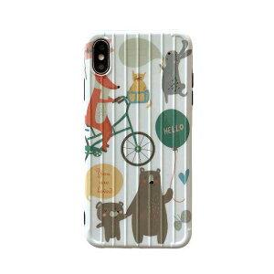 【メール便送料無料】≪大人気キャリーケースシリーズ≫POPで可愛い欧州風のアニマル柄がとってもお洒落♪大人女子にぴったりな掴みやすいRIMOWA風ボディのスマホケース iPhone6,6s,6Plus,6 S Plu