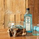 吹きガラスと木のオブジェ フラワーフロート М アソートg03 どんぶり金魚 アクアリウム テラリウム ポプリ ミニ リラ…