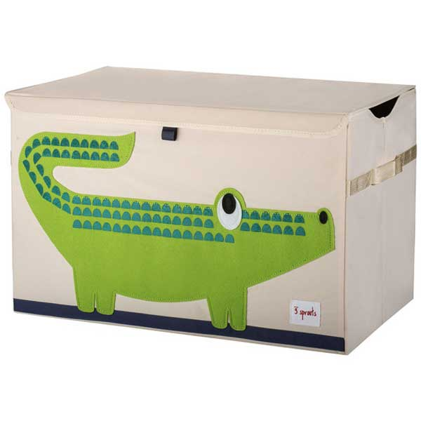【あす楽】スリースプラウツ 3sprouts トイチェスト Toy Chest クロコダイル Crocodile わに【asrk_ninki_item】