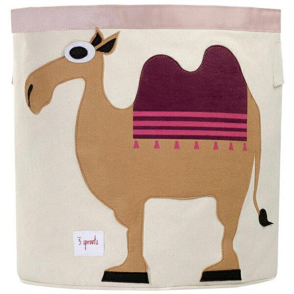 スリースプラウツ 3sprouts ストレージビン Storage Bin キャメル Camel らくだ