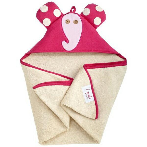 【あす楽】スリースプラウツ 3sprouts フーディータオル Hooded Towel エレファント Elephant ぞう【asrk_ninki_item】