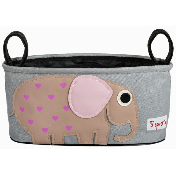 【あす楽】スリースプラウツ 3sprouts ストローラーオーガナイザー Stroller Organizer エレファント Elephant ぞう【asrk_ninki_item】