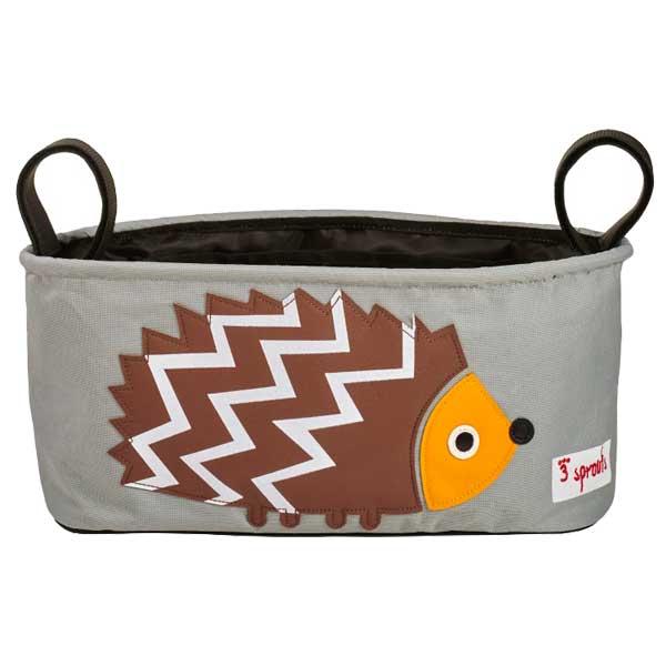 【あす楽】スリースプラウツ 3sprouts ストローラーオーガナイザー Stroller Organizer ヘッジホッグ Hedgehog はりねずみ【asrk_ninki_item】