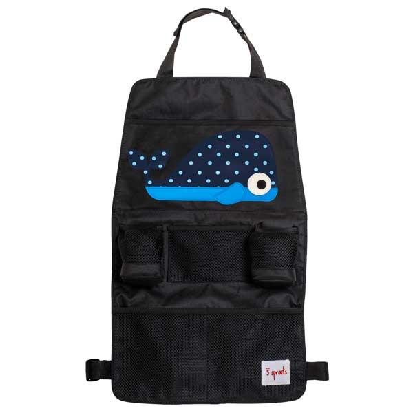 【あす楽】スリースプラウツ 3sprouts バックシートオーガナイザー  Backsheet Organizer ホエール Whale くじら d01011504 【asrk_ninki_item】