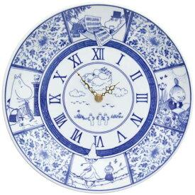 amabro アマブロ Moomin ムーミン SOMETSUKE 染付 時計 TIME GOES ON ブルー Blue 0838