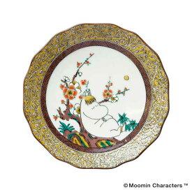amabro アマブロ Moomin ムーミン JAPAN KUTANI -GOSAI- 九谷焼 小皿 Snork Maiden スノークのおじょうさん 1213