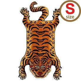 ディテール DETAIL チベタンタイガーラグ Tibetan Tiger Rug  DTTR-02 Sサイズ