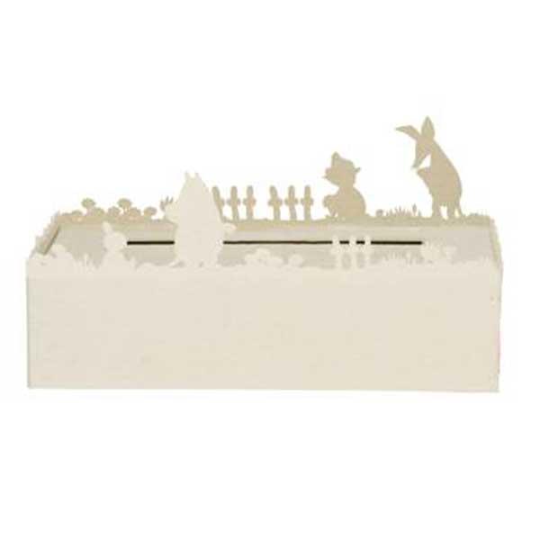 ディクラッセ DI CLASSE ムーミン Moomin ティッシュケース Tissue Case ホワイト WhiteHA1141WH