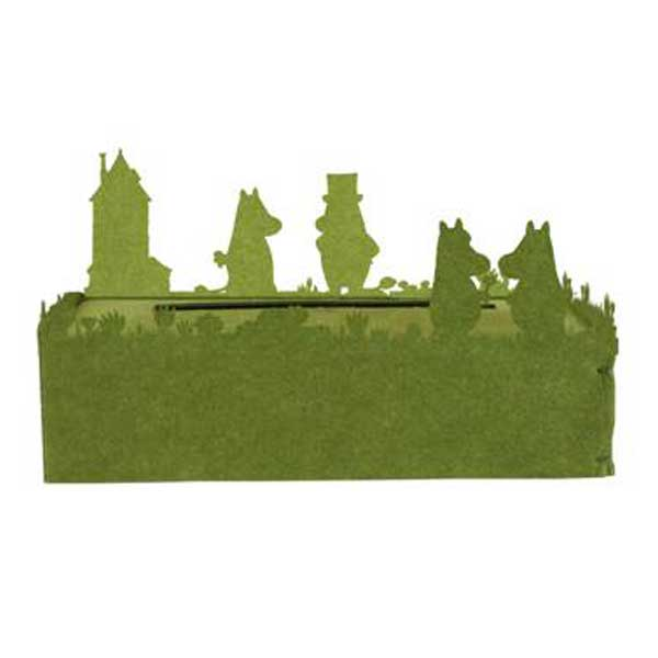 ディクラッセ DI CLASSE ムーミン Moomin ティッシュケース Tissue Case グリーン GreenHA1141GR