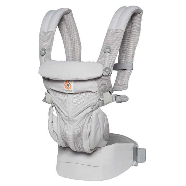 【あす楽】エルゴベビー Ergobaby ベビーキャリア Baby carrier オムニ360 クールエアー OMNI 360 COOL AIR グレー CREGBCS360PGREY 【asrk_ninki_item】