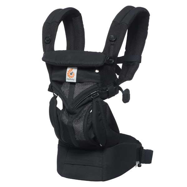 エルゴベビー Ergobaby ベビーキャリア Baby carrier オムニ360 クールエアー OMNI 360 COOL AIR ブラック CREGBCS360PBLK