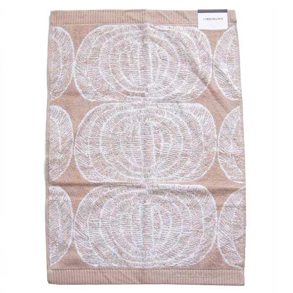 【あす楽】マリメッコ marimekko メヒライスペサ MEHILAISPESA ハンドタオル Hand Towel 50×70 ベージュ 【asrk_ninki_item】