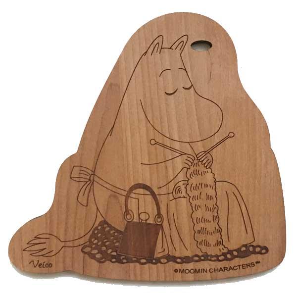 【あす楽】ヴェイコ Veico ムーミン Moomin 木製カッティングボード Cutting board ムーミンママ 【asrk_ninki_item】