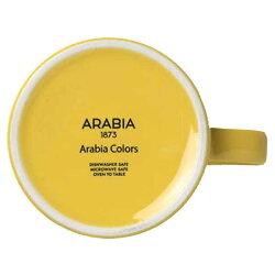 【あす楽】アラビアフィンランドARABIAFINLANDアラビアカラーArabiaColorsティーカップTeacup0.18LイエローYellow