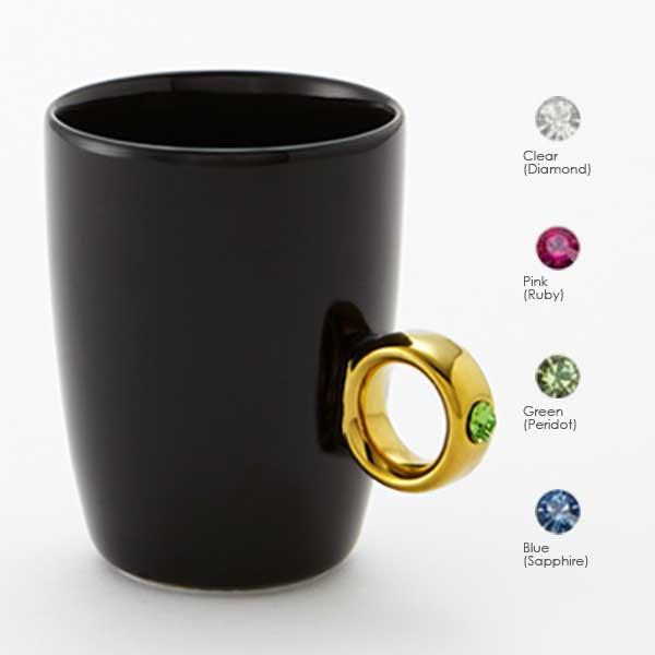 Floyd フロイド Cup Ring カップリング Black / Gold ブラック / ゴールド