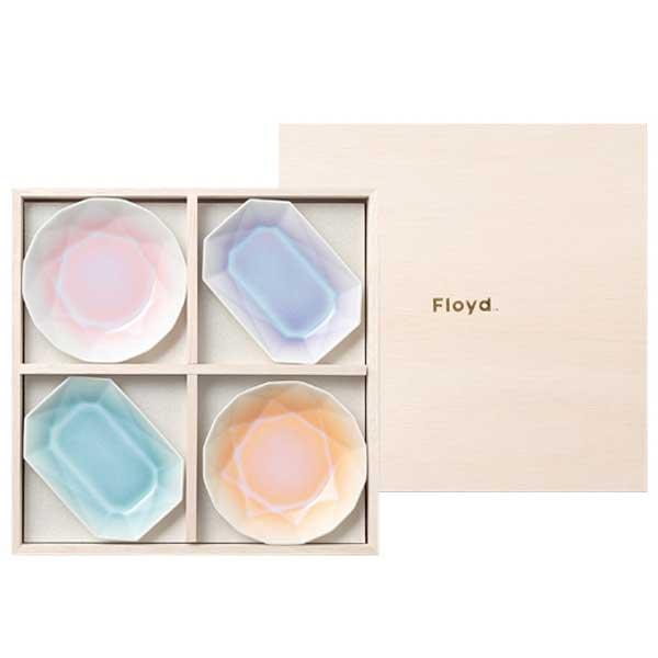 Floyd フロイド ARITA JEWEL 有田ジュエル MIX 4pcs FL06-02101 ※パッケージが木箱から紙箱に変更となる場合がございます。
