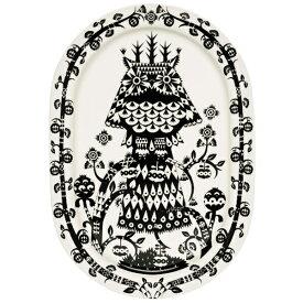 【あす楽】イッタラ iittala タイカ Taika オーバルサービングプレート Oval Serving Plate 41cm ブラック Black ■【送料無料】【asrk_ninki_item】