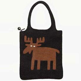 【あす楽】クリッパン KLIPPAN フェルトバッグ Felt Bag ムース ブラック KP890916【送料無料】【asrk_ninki_item】