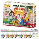 LaQ ラキュー Animal World アニマルワールド Wild Kingdom ワイルドキングダム 1240pcs【送料無料】
