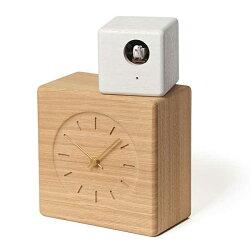 レムノスLemnosクロックClock鳩時計CubistCuckooClockナチュラル+ホワイトGTS19-04A*受注後に納期をお知らせ致します。