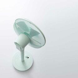 プラスマイナスゼロ±0補助翼扇風機DCファンミントグリーンXQS-Y620(MG)【送料無料】