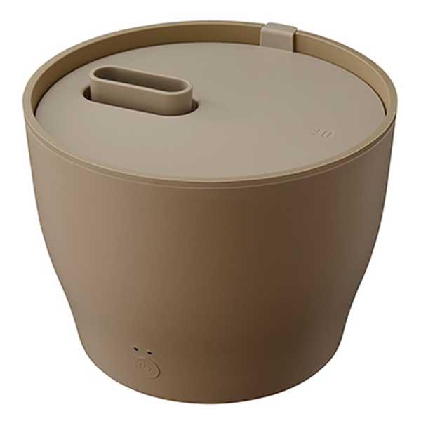 プラスマイナスゼロ ±0 スチーム式加湿器 ブラウン XQK-Z210(T) 【送料無料】