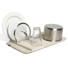 アンブラ umbra ユードライ ミニドライングマット UDRY MINI Dish Rack & Drying Mat リネン 21004301-354
