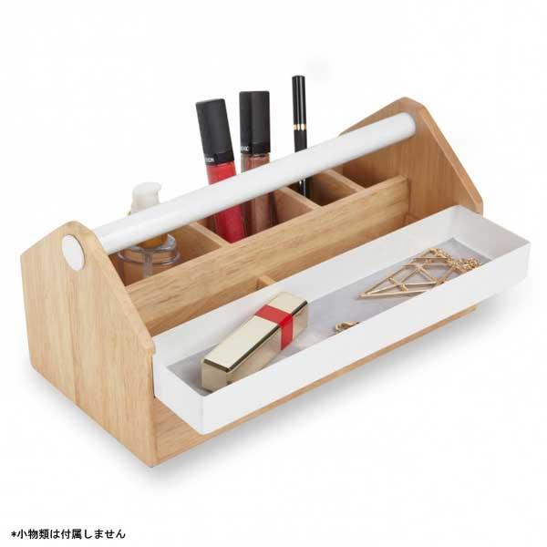 アンブラ umbra トト ストレージボックス TOTO Storage Box ホワイト / ナチュラル 2290240-668